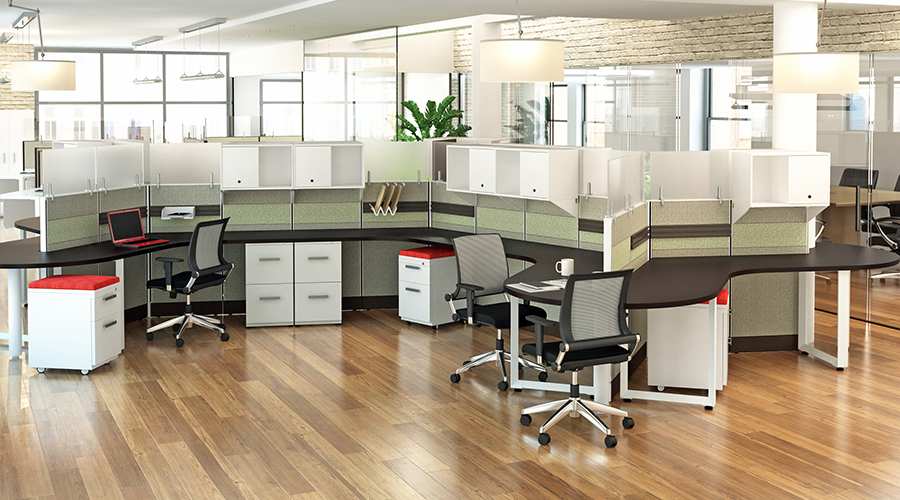 Segmented Cubicles 1