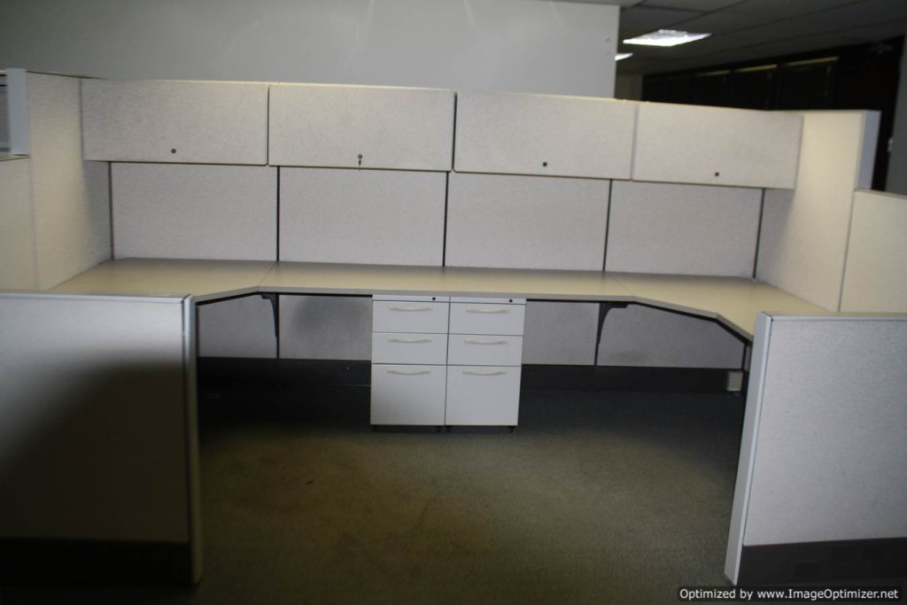 Used Herman Miller SQA Cubicles, 6×6 Typical, St. Louis, Missouri