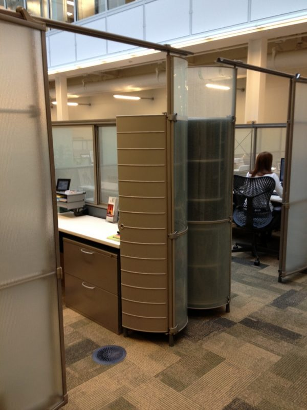 Rare Herman Miller My Studio Cubicles / WorkStations
