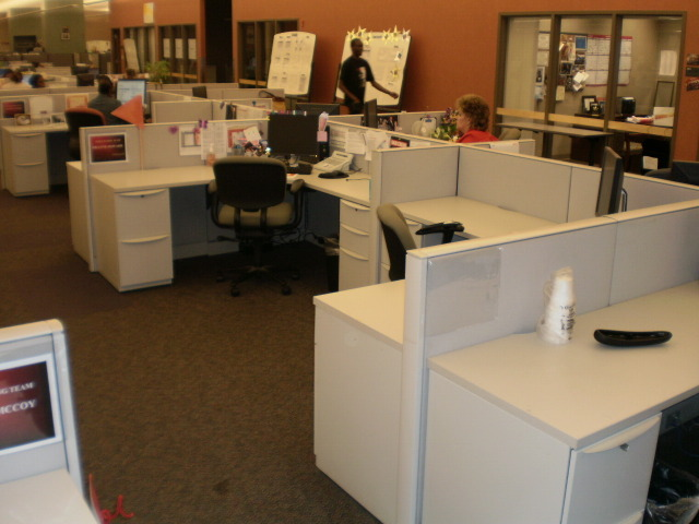Used Haworth Premise 6×6 workstations