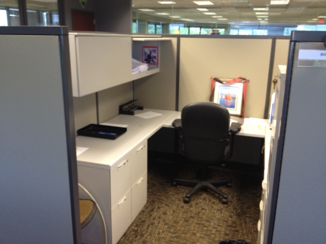 Steelcase Avenir Cubicles in 8X8