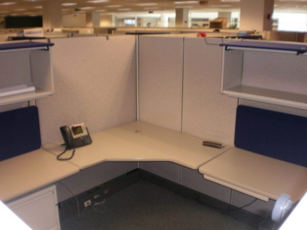 Used Herman Miller AO2 8×8 and 8×6 and 6×8 Cubicles