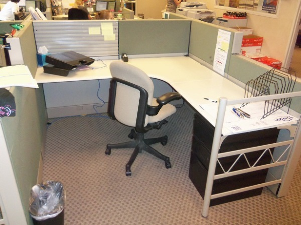 Used Herman Miller Ethospace 6×6 workstations