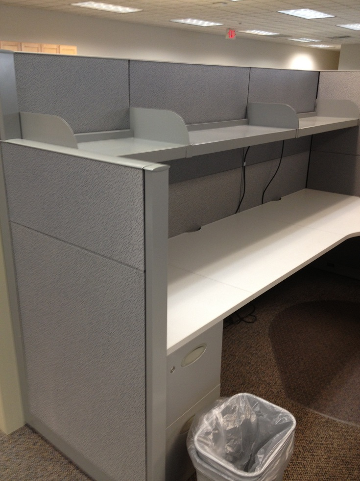 Used Steelcase Answer 7×7 and 7×9 cubicles