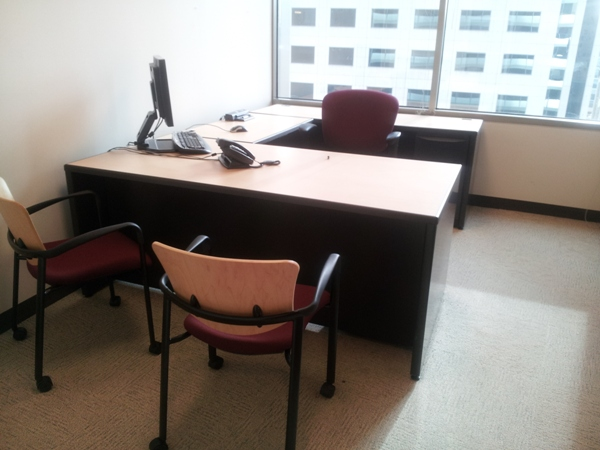 Used Haworth Premise 7×7 workstations