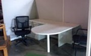 Used Haworth workstations with Bullet Desks