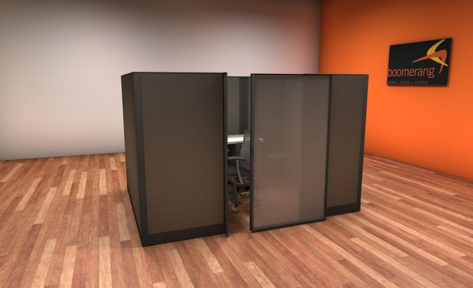 Used Knoll Morrison 6×6 and 6×8 Cubicles