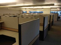Teknion TOS Located in San Jose. 8X9 workstations