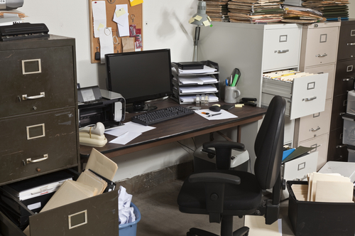 The Dirtiest Places in Your Office