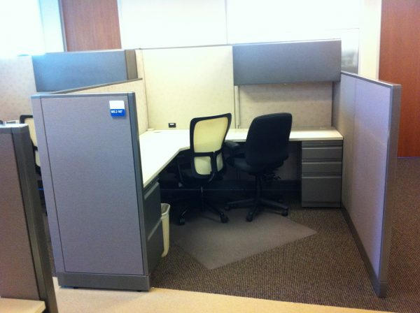 Used Allsteel Consensys 7×7 cubicles