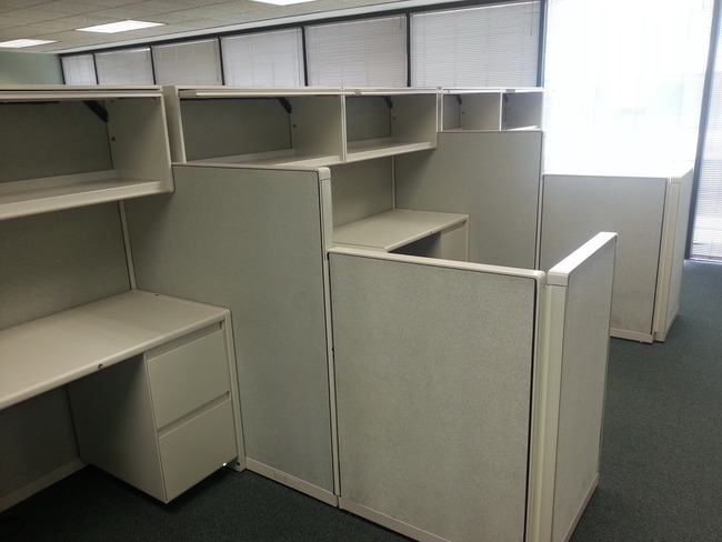 8X6 Pre-Owned Steelcase Cubicles
