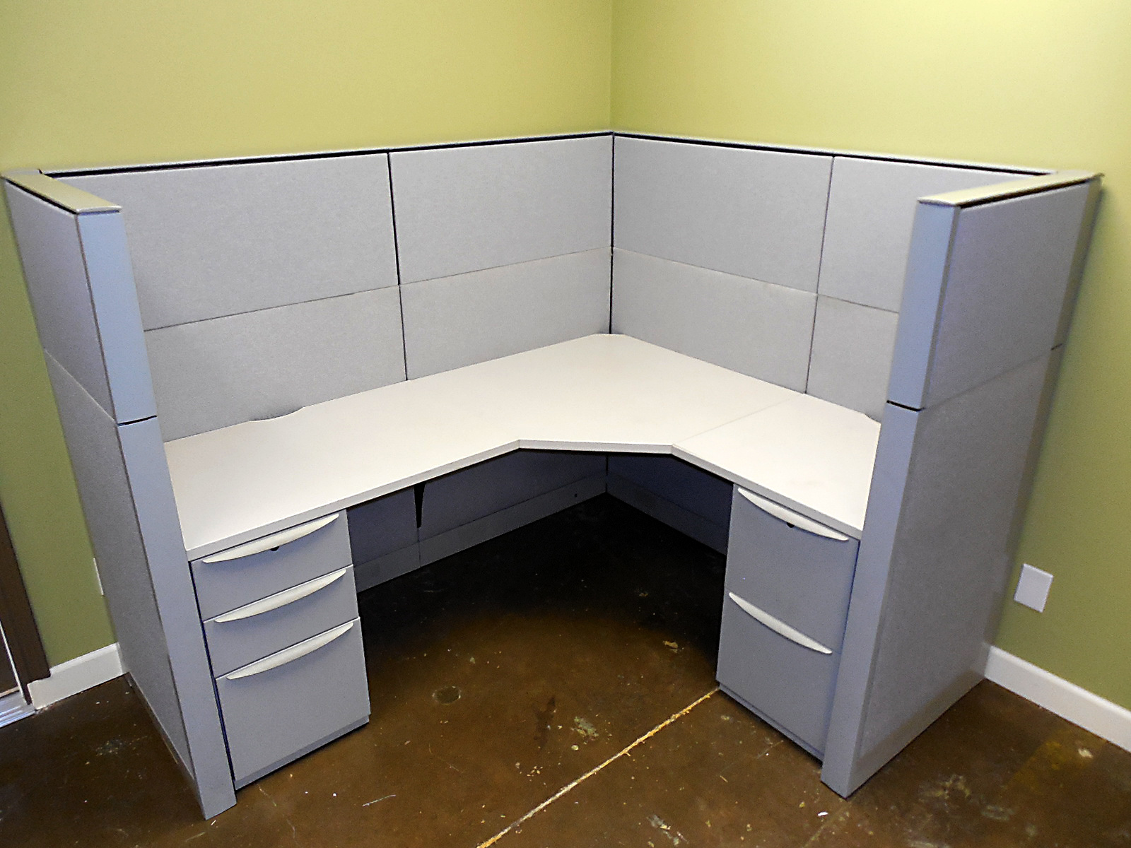 Used Haworth Premise Cubicles, 6X5