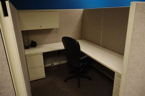 Used Kimball Cubicles, 6X8 or 6X6