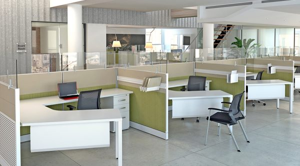 Benefits of an Open Office Cubicle Concept