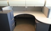 Nice Haworth Premise 8X6 Cubicles